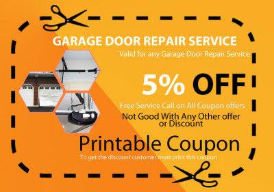 Coupons for Garage door repair hollywood